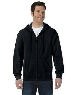 Gildan 7.75oz Heavy Blend Full-Zip Hood Hoody 18600 Big Size
