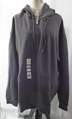 Champion Hoodie Zippered Jacket Long Sleeves Side Pockets 3X