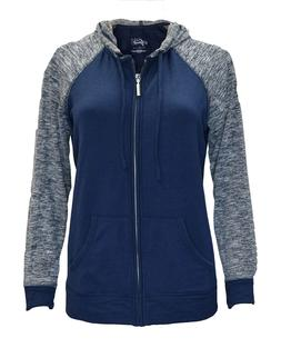 Style & Co. Sport Women's Zipper Hoodie with Draw-String in