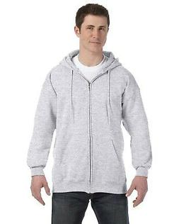 Hanes Adult 9.7 oz. Ultimate Cotton 90/10 Full-Zip Hood F280