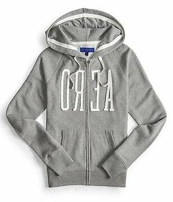 Aeropostale Women's Full Zip Hoodie with  AERO Logo