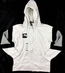 Nike Air Fleece Full Zip Hoodie Grey Black White 928629-051