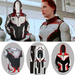 Avengers 4: Endgame Quantum Realm Battle Suit Cosplay Hoodie