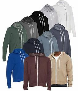 Bella + Canvas Unisex Sponge Fleece Full-Zip Hoodie 3739 - C
