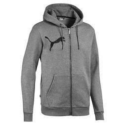 PUMA Big Logo Men's Full Zip Hoodie Men Sweat Basics
