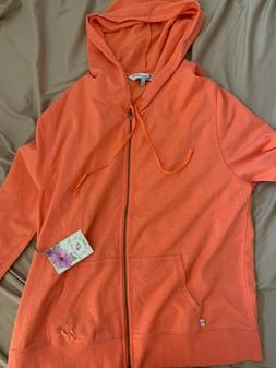 BNWT!! Margaritaville Zip-Up Hoodie!! T-shirt Material! Size