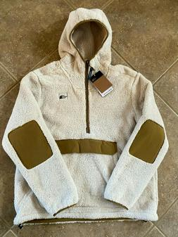 The North Face Campshire Sherpa Fleece Hoodie Mens XL White