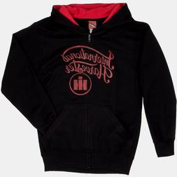 """12M or 18M 6M Case IH /""""New Man on the Farm/"""" Black Infant Zippered Hoodie Size"""
