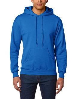 Fruit of the Loom Classic 80/20 Hooded Sweat - Royal Blue -