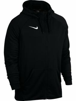 Nike Dry Fleece DRI-FIT Full Zip Men's Hoodie Sweatshirt Bla