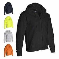 Gildan DryBlend Full Zip-Up Mens Hoodie Sweatshirts 12600