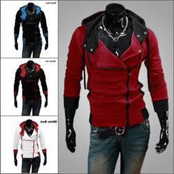 Fashion Men's Creed Hoodie Coat Cosplay For Assassins Jacket