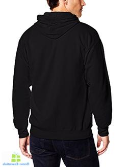Fleece Hoodie Full Zip Up Hooded Zipper Jackets Pockets For