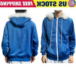 Game Undertale Sans Cosplay Costume Zipper Hoodie Sweatshirt