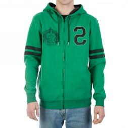 Harry Potter Slytherin Hogwarts House Zip Up Hoodie NEW Clot