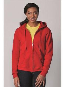 Gildan - Heavy Blend Women's Full-Zip Hooded Sweatshirt - 18