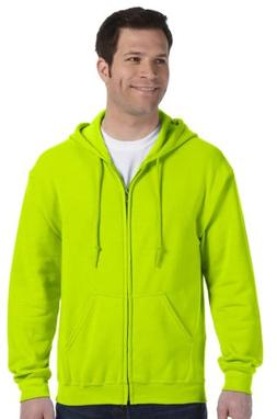 Gildan Men's Heavy Blend Full-Zip Hoodie Sweatshirt, XX-Larg