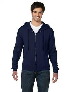 Fruit Of The Loom Hoodie Hoody Sweatshirt Men's Supercotton