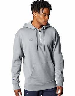 Hoodie Sweatshirt Champion Men's Powerblend Fleece Quarter Z