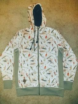 Burton Hoodie Zipper Sweatshirt New Without Tags Men's Size
