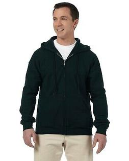 Gildan Hoody Sweatshirt Men's 9.3 oz DryBlend 50/50 Full-Zip