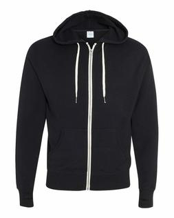 Independent Trading Co. Heather French Terry Full-Zip Hooded