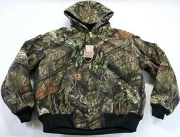 carhartt j221 mossy oak zip up camouflage camo jacket coat L