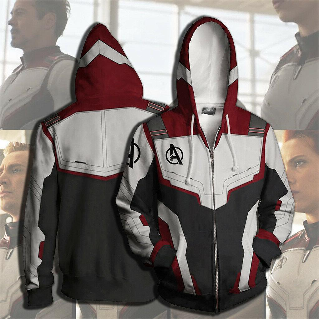 Avengers 4: Endgame Quantum Realm Suit Cosplay Hoodie Sweater