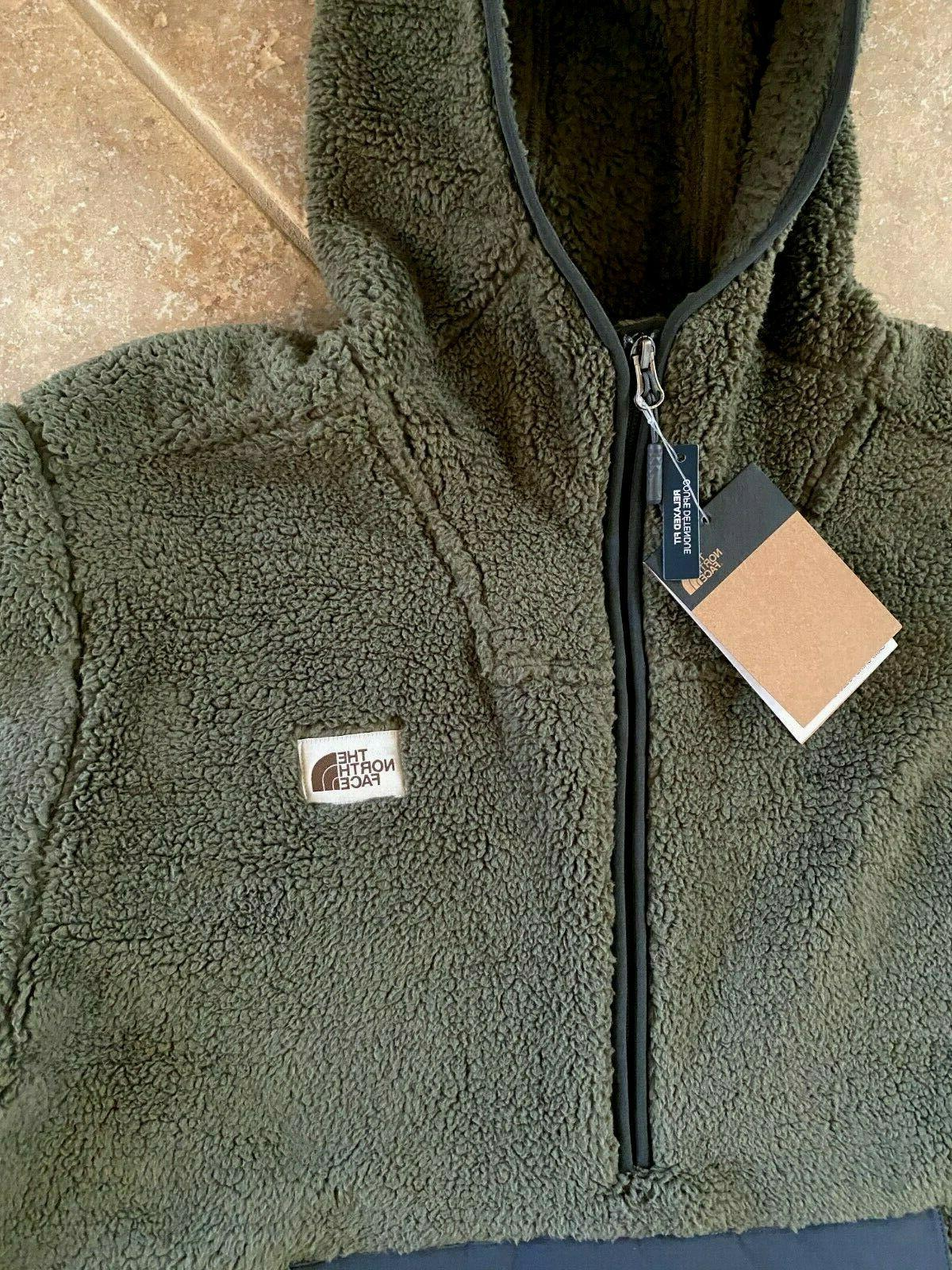 The North Face Sherpa Fleece Hoodie XL NWT $149