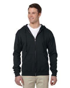 Jerzees Adult NuBlend Full Zip Hooded Sweatshirt, JZ993MR, X