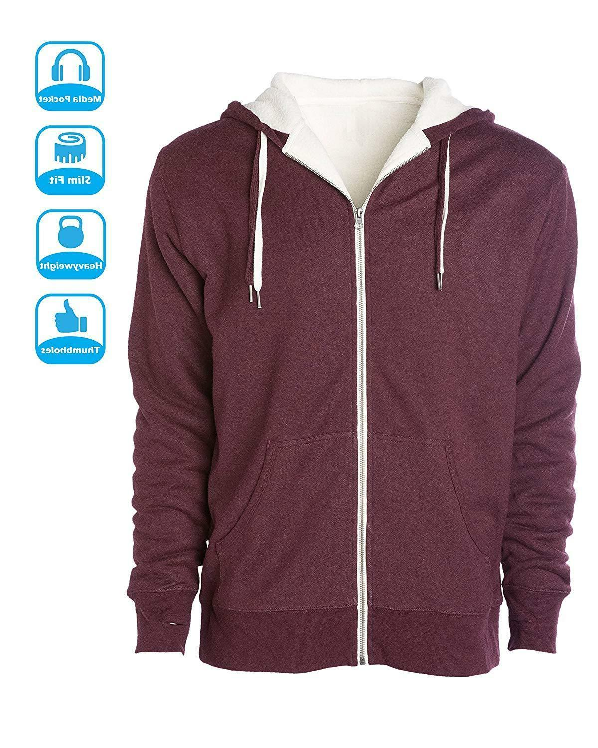 Global Lined Zip Hoodie H
