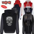 Hotrod 58 Hoody Hoodie zipper Jacket Black Mexican Sugar Sku