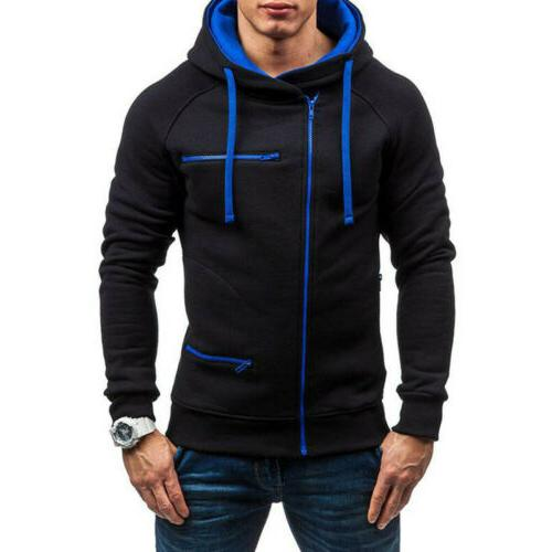 Men's Sweatshirt Plus Size Jacket Coat