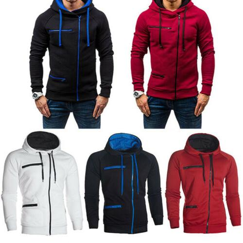 Men's Plus Size Sweater Zipper Jacket Outwear