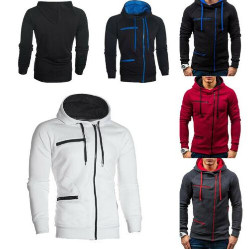 Men's Hoodie Plus Size Jacket Outwear Coat Tops