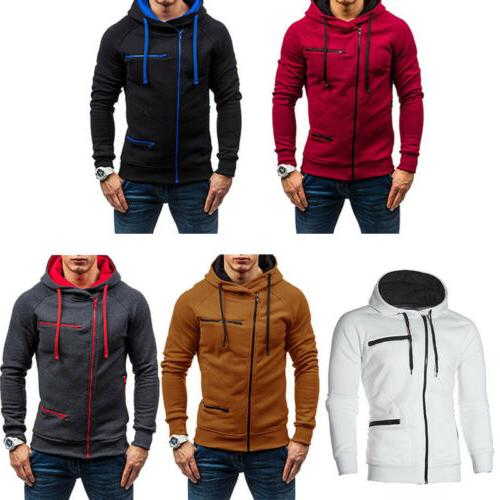 Men's Hoodie Sweatshirt Plus Jacket Outwear