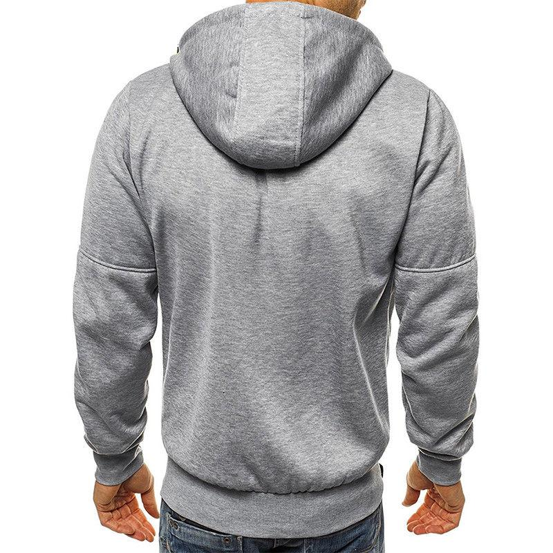 Men Hooded Casual Sports Tops