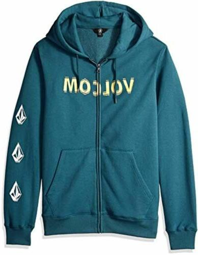 Volcom Men's Supply Zip Sweatshirt