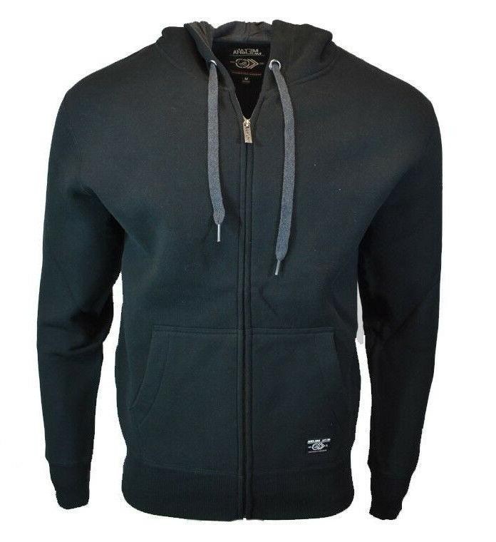 men s sweat shirt hoodie zipper black