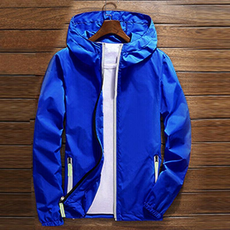US ZIPPER Jacket hoodie Sports Outwear