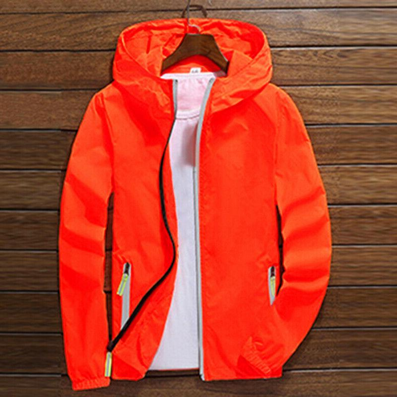US Waterproof Windbreaker ZIPPER Light Sports