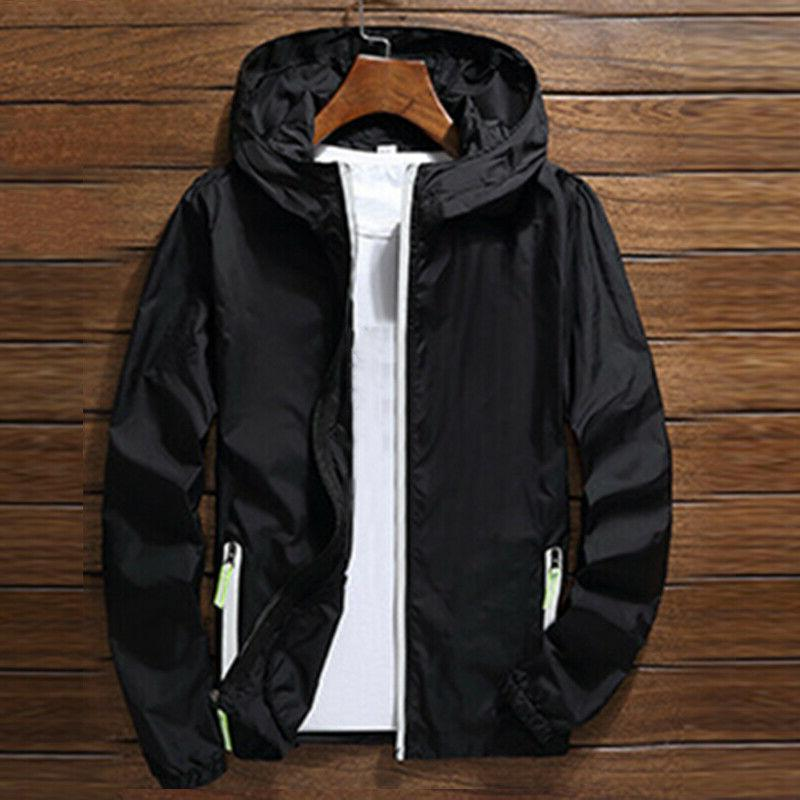 US ZIPPER Light Sports Coat Gym
