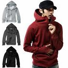 Men's Winter Hooded Zipper Jacket Coat Sweatshirt Hoodie Fle