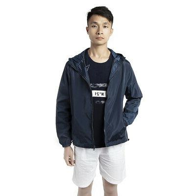 Men Windbreaker Casual Coat