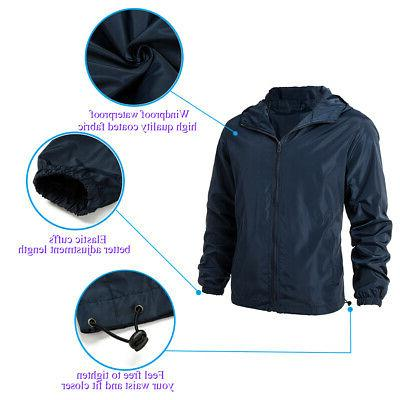 Men Zipper Casual Outwear Coat