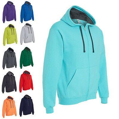 mens hoodies sofspun hooded full zip sweatshirt