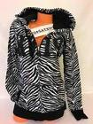 NWT Victoria's Secret PINK Perfect Full Zipper Hoodie Black