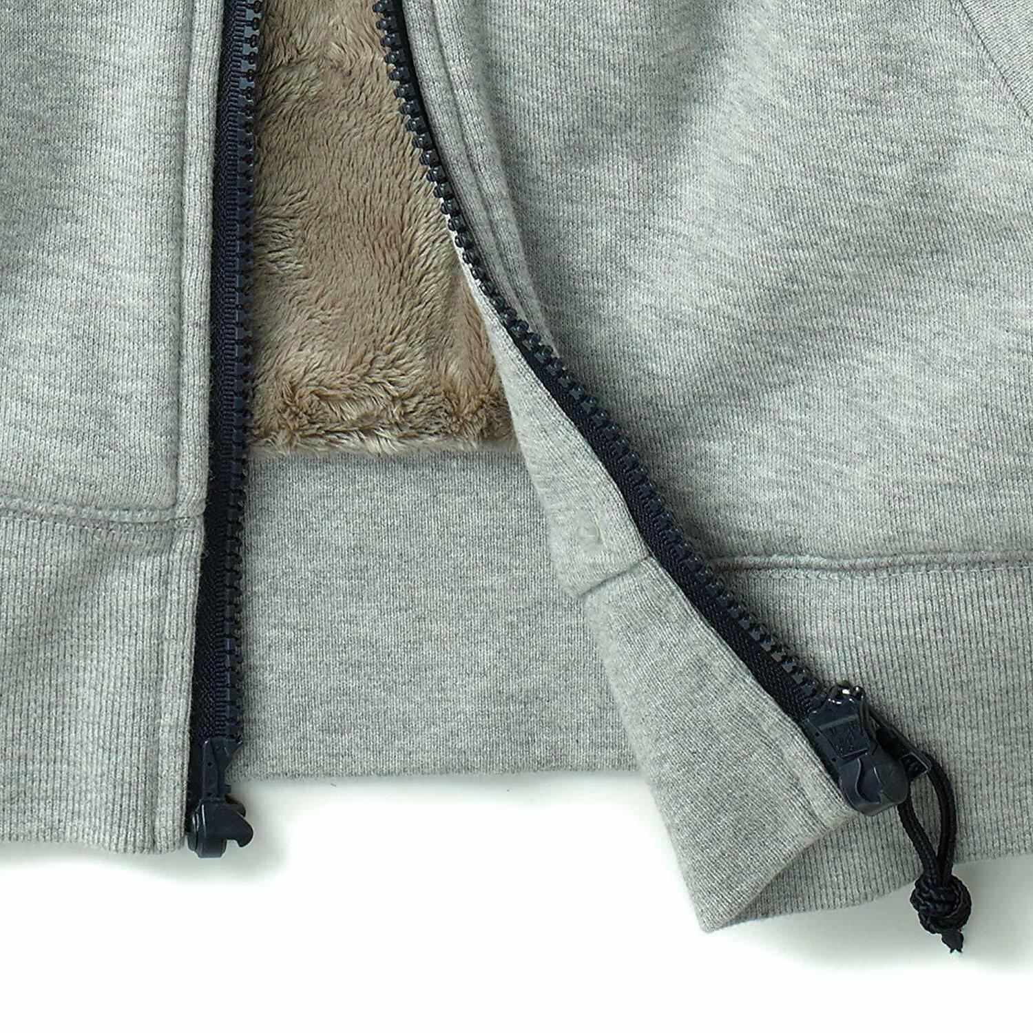 Tommy Hilfiger Adaptive Men's Hoodie Zipper and Lining