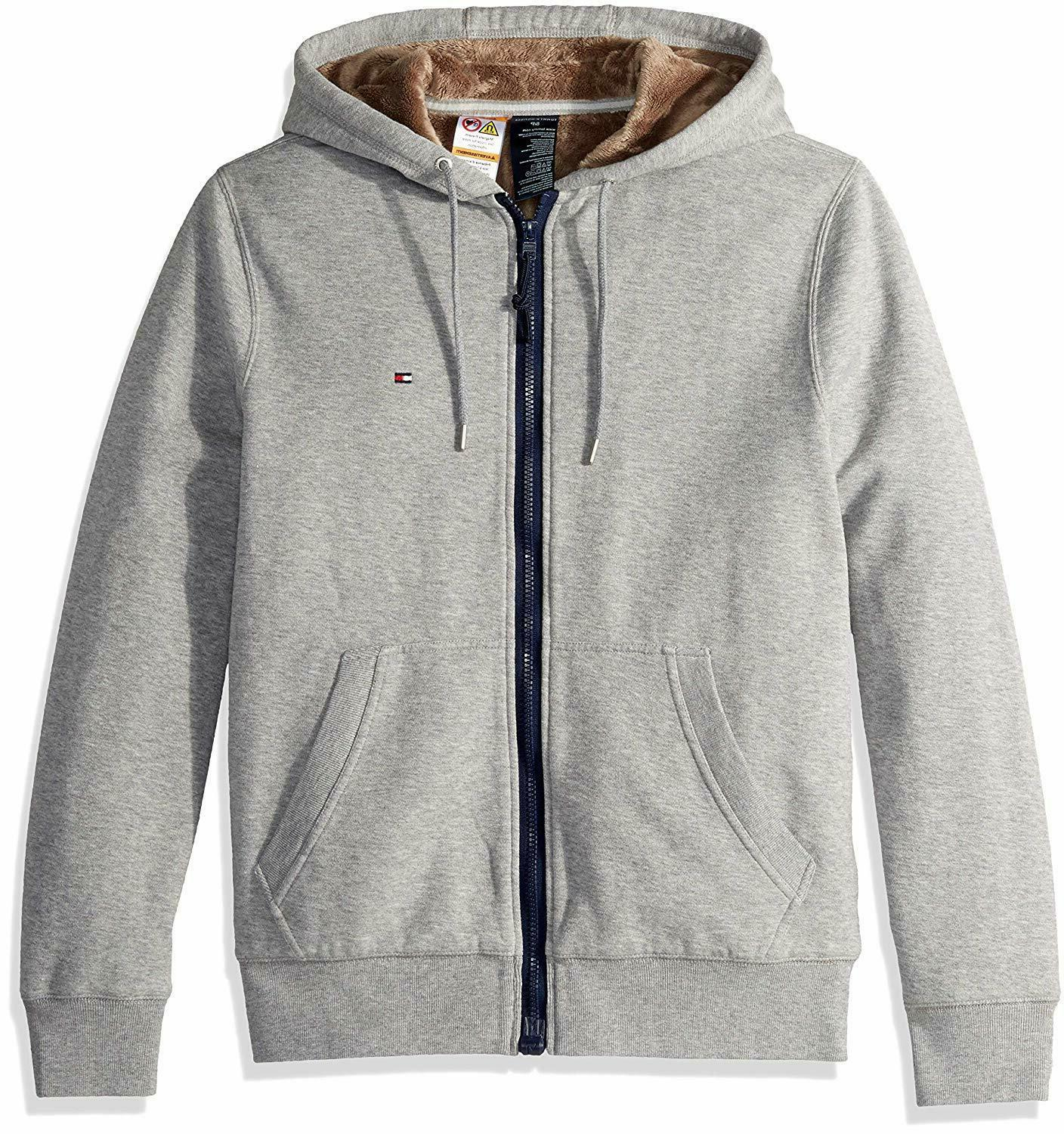 Tommy Hilfiger Adaptive Men's Hoodie with Magnetic Zipper