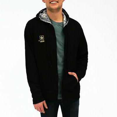u s army men s full zip